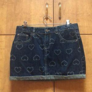 Brand new Benetton Jeans Skirt!